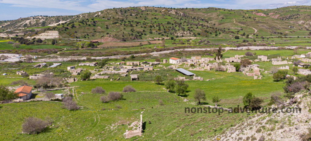 Souskiou Dorf Zypern