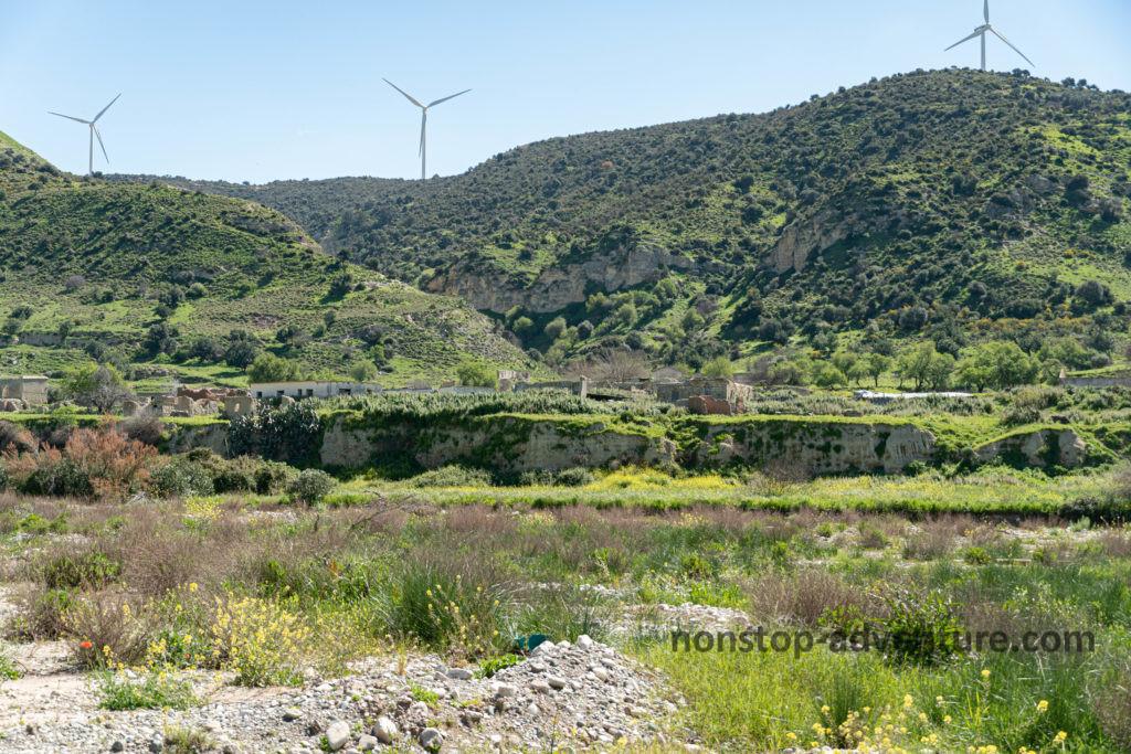 Dorf Souskiou auf Zypern