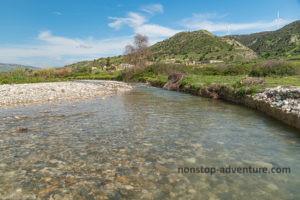 Fluss Diarizos auf Zypern