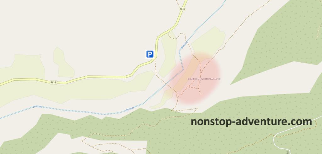 Lost Place Zypern Karte