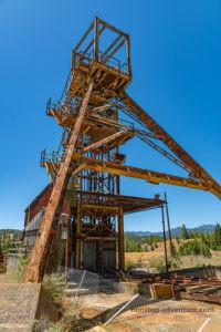Förderturm Mitsero Mine