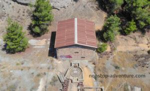 Minengebäude in Zypern